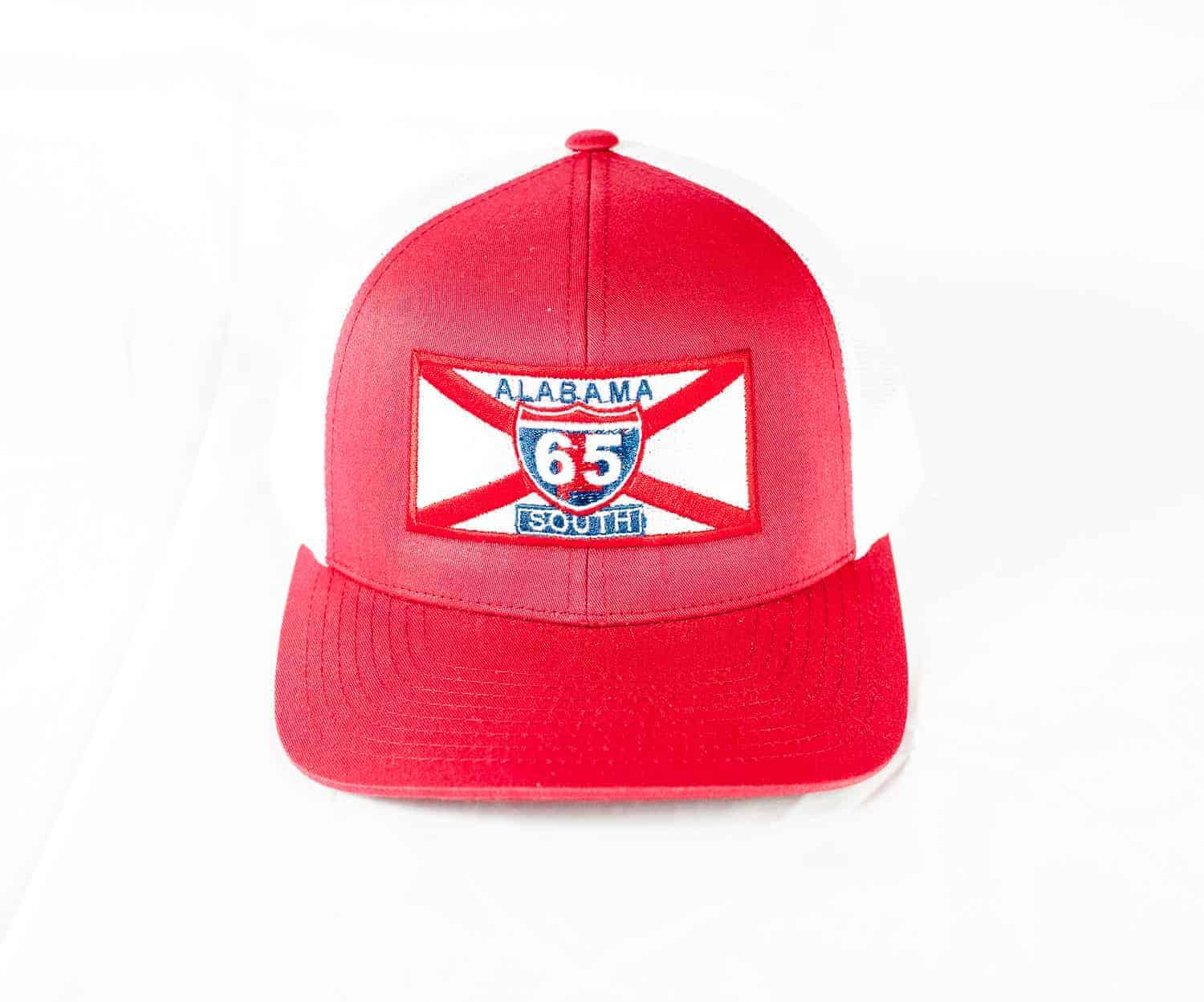 65 South Game Day Hat Crimson with White Mesh - 65 South ceab54eb81a
