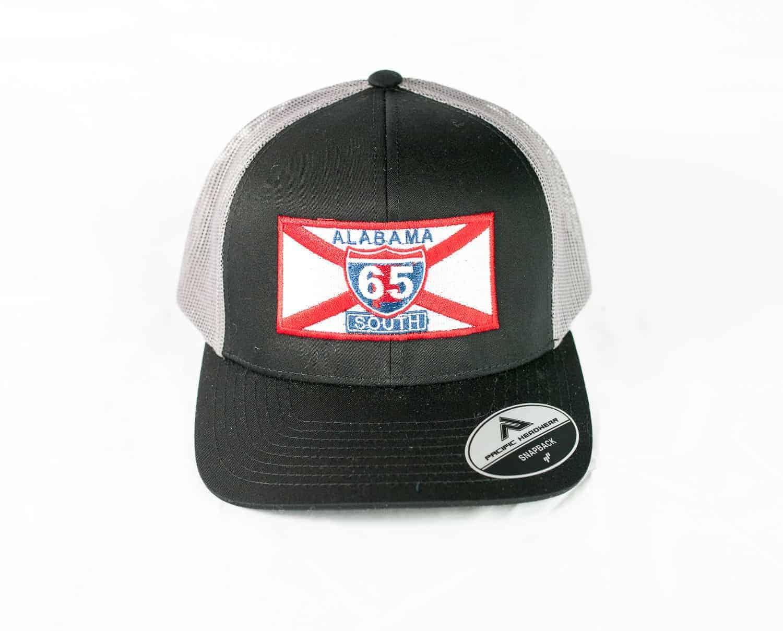 65 South Trucker Hat Black with Grey Mesh - 65 South 6ef6409b7dd